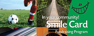 Thrifty Foods Smile Card Fundraising Program Card