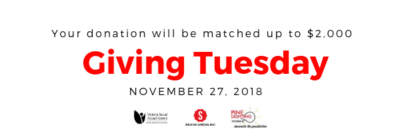 Take Action on Giving Tuesday