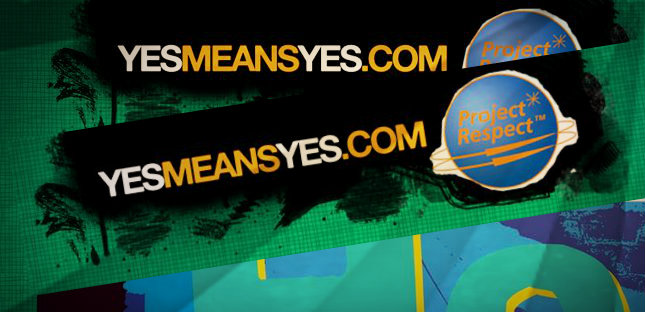 Website header from yesmeansyes.com