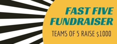 Fast Five Fundraiser Banner