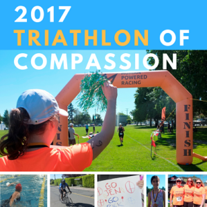 Poster of the 2017 Triathlon of Compassion