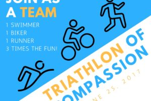 Triathlon of Compassion Relay Teams